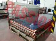 Flat Panel Thermal Solar Collector Low Iron Tempered Woven Glass Material