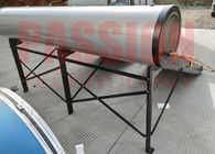 Blue Film Flat Plate Collector Solar Water Heater Pitched Roof Very Safe