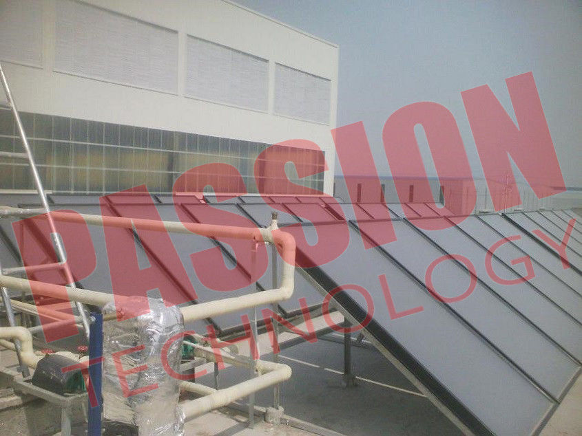 Blue Titanium Pressurized Flat Plate Solar Collector Heating System