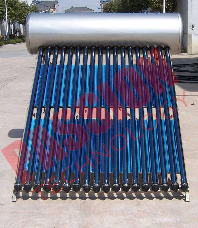Silver CPC Heat Pipe Solar Water Heater for Bathing