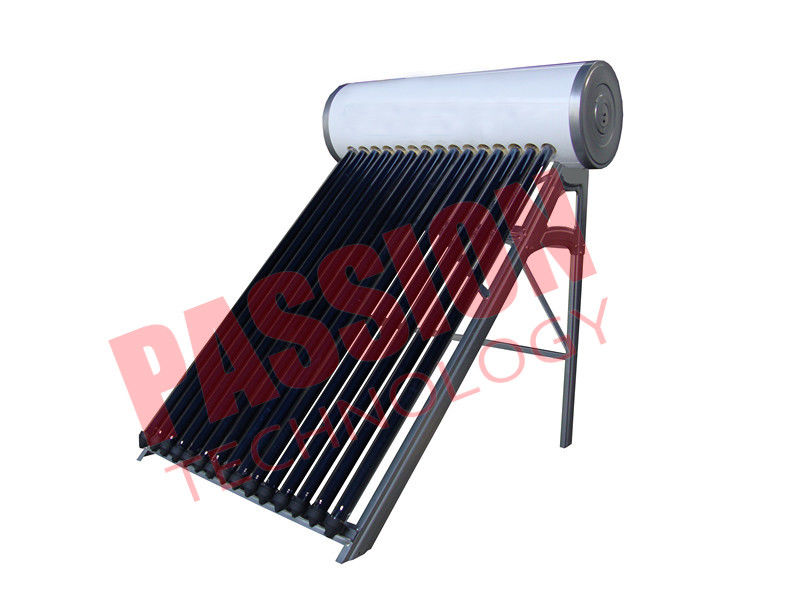 Enamel Tank Heat Pipe Solar Water Heater