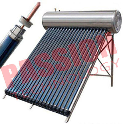 Solar Heat Pipe Water Heater For Shower