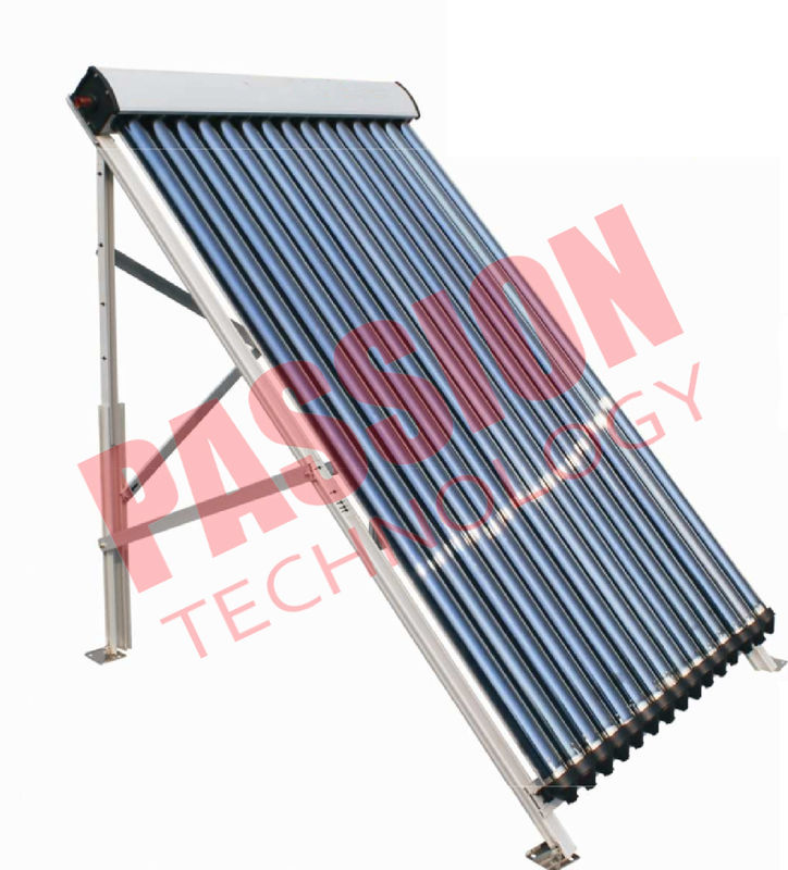20 Tubes Anti Freezing U Pipe Solar Collector Aluminum Manifold For House