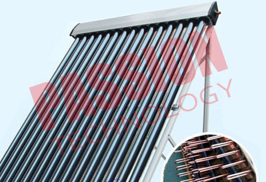 High Efficiency U Pipe Solar Collector No Noise 45 Degree Angle Frame For Hospital