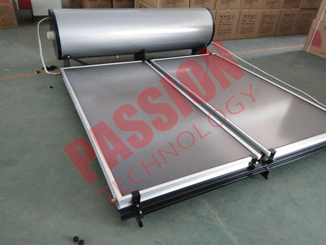 Pressurized Solar Water Heater Flat Plate , Home Solar Water Heater For Bathing