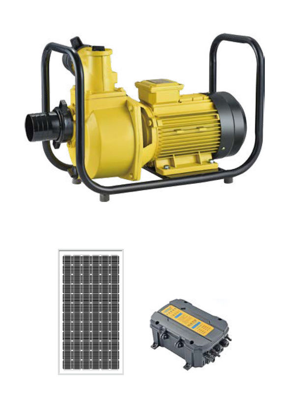 Hotel Solar Energy Motor Pump , Swimming Pool Water Pump With Solar System