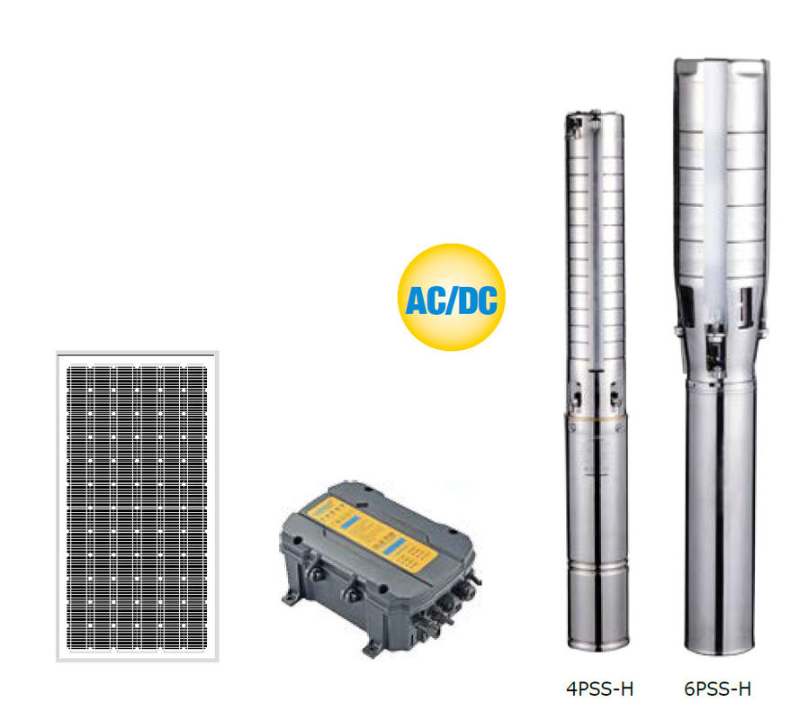 Durable Solar Water Pumping System , Solar Borehole Pump System High Efficiency