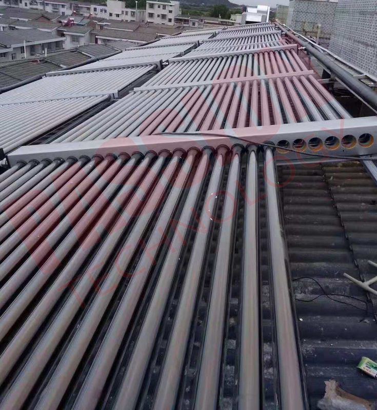 50tubes Evacuated Tube Solar Collector , Solar Water Heater Solar Thermal Collector