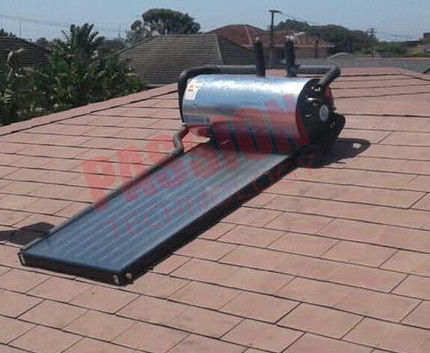 Integrated Pressurized Flat Plate Solar Hot Water Blue Titanium Solar Collector