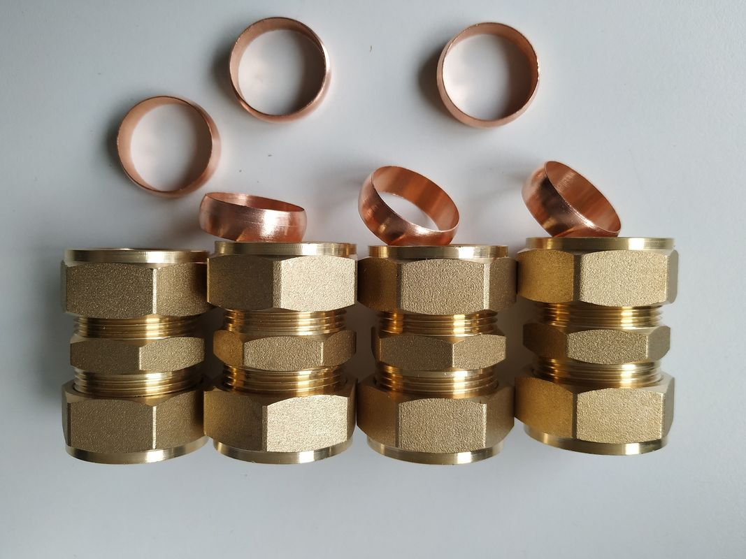 Copper Connector for Solar Water Heater Brass Fittings For Solar Collector